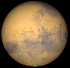 Mars at opposition in 2018 (Image from NASA's Solar System Simulator v4)