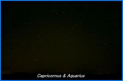 Photograph showing the constellations of Capricornus & Aquarius. Click for a full-size photo (Copyright Martin J Powell, 2005)