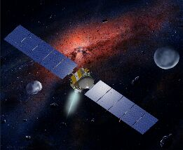 NASA's Dawn spacecraft (Image: NASA/MCREL/UCLA)