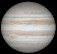 Jupiter as seen from the Earth at opposition on 2021 August 19 (Image from NASA/JPL's Solar System Simulator)