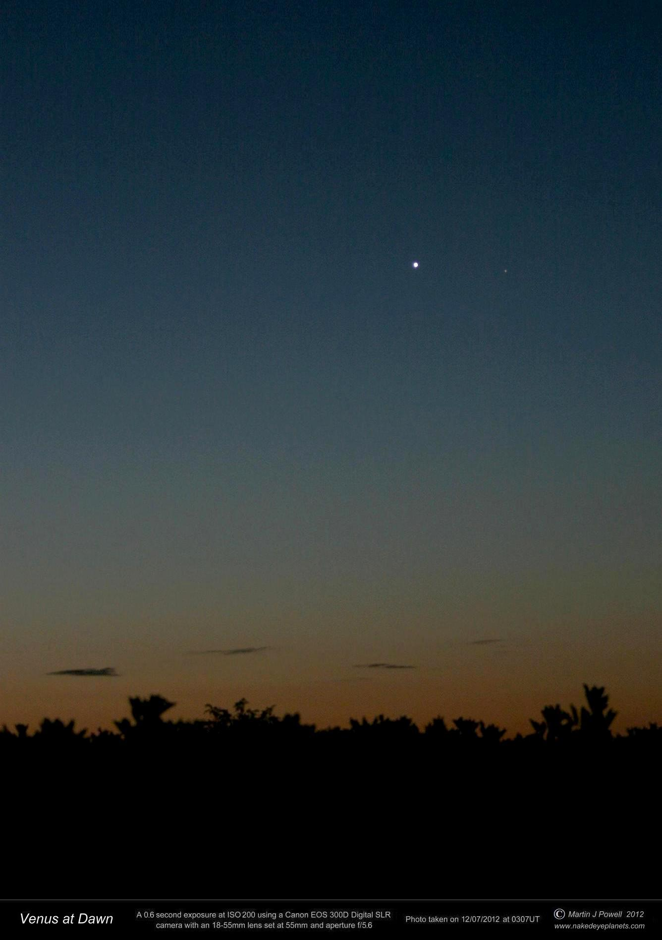 planets in the eastern sky - photo #38